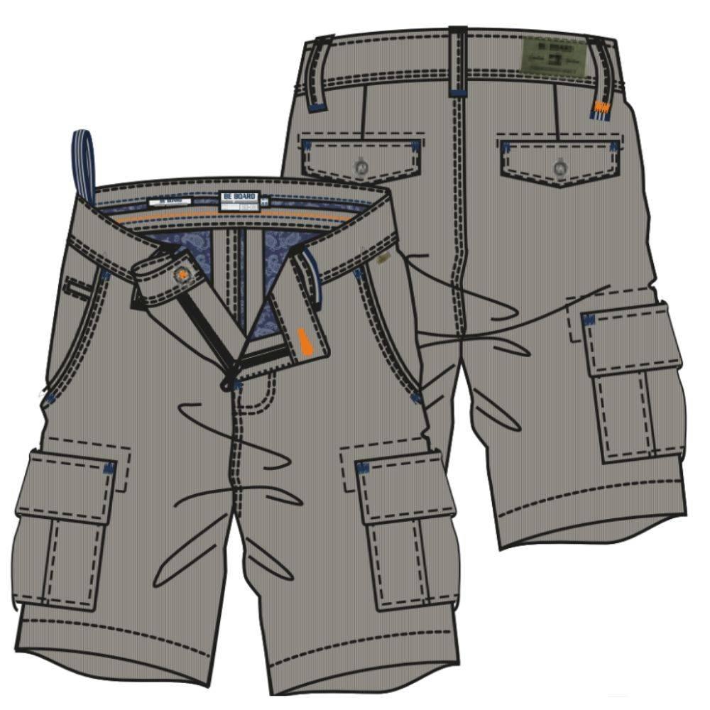 BE BOARD BERMUDA  (6 Pockets)