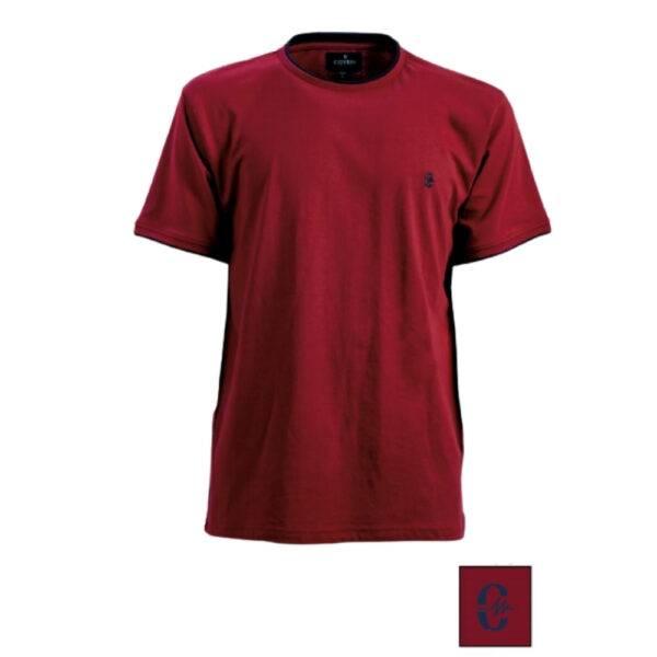 T-shirt T-SHIRT COVERI BORDI A CONTRASTO