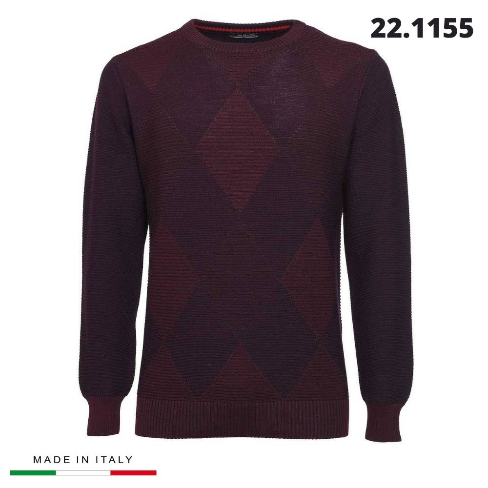 """CREW-NECK SHIRT """"RE DEL MARE"""" MADE IN ITALY"""